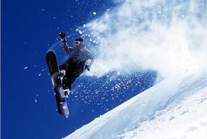 冬日户外滑雪日